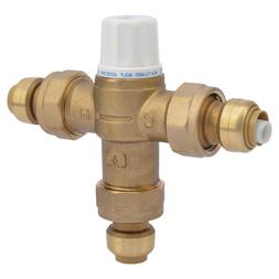 "1/2"" Brass Heat Guard 160 Thermostatic Mixing Valve Home Ind"