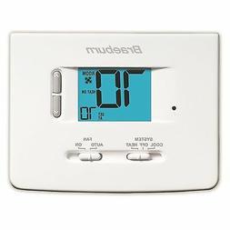 BRAEBURN 1020NC Thermostat, Non-Programmable, 1H/1C
