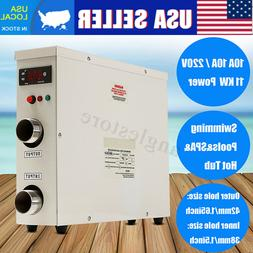 11KW 220V Electric Water Heater Thermostat Home Swimming Poo