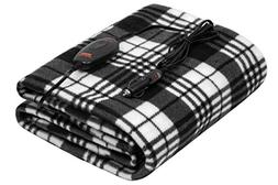 12v heated travel electric blanket for car