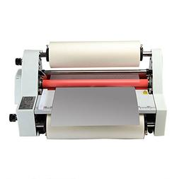 Zinnor 17'' Hot and Cold Thermal Laminator, Rapid Warm-u
