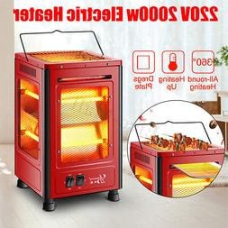 2000W Portable Electric Garage Space Heater Winter Hot Therm