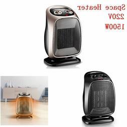 220V 1500W Portable PTC Ceramic Heater Warmer with Adjustabl