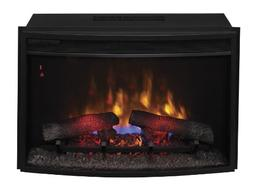 "ClassicFlame 25EF031GRP 25"" Curved Electric Fireplace Insert"