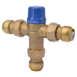 """3/4"""" Brass Heat Guard 110D Thermostatic Mixing Valve Home In"""