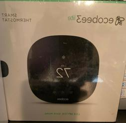 Ecobee 3 Lite Smart Wi-Fi Thermostat - Black with 2 Room Sen