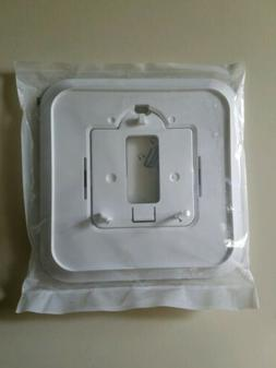 HONEYWELL 32313163-002 Cover Plate, Wall Mount, White, Plast