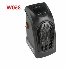 350W Space Heater Electric Home Office Thermostat Small Safe