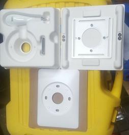 Nest 3rd Gen.Thermostat J Box Metal Plate, Wall Trim Plate w
