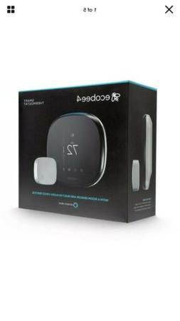 Ecobee4 EB-STATE4-01 Thermostat With Sensor and Amazon Alexa
