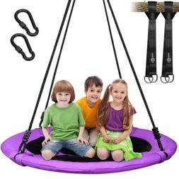"40"" Flying Saucer Tree Swing Nest 700 lbs for Children Water"