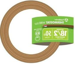 Southwire 50 Ft. 18/2 Brown Solid CU CL2 Thermostat Wire UV-