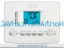 CTC 62100N 62152P Digital Home AC HP Furnace Thermostat 2H/1