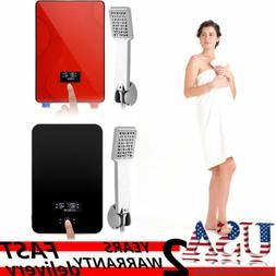 6500W 220V Digital Electric Tankless Instant Hot Water Heate