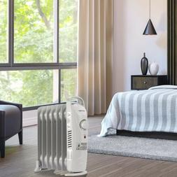 700 W Home Heater Portable Electric Oil Filled Radiator Adju