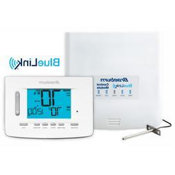 Braeburn Programmable Thermostat Kit Universal Wireless Blue