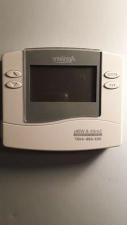 Aprilaire 8463 Thermostat, Programmable Dual Powered Thermos