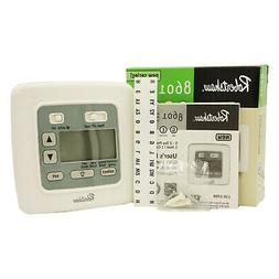 8601 Digital 5-2 Day Programable Thermostat 1 Heat / 1 Cool