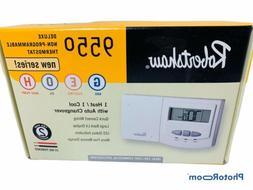 🔥Robertshaw 9550 24-Volt AC 1 Heat / 1 Cool Deluxe Non Pr
