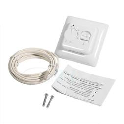 AC 230V Manual Floor Heating Thermostat Temperature Control