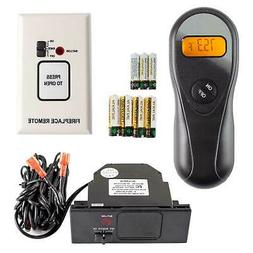 Acumen On/Off Fireplace Remote Control with 9-Foot Wires