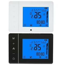 Air Conditioner Thermostat 2/4 Pipe With LCD Display Program