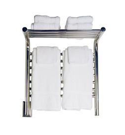 "Amba Jeeves M Shelf Hardwired Towel Warmer 11 Bars, W 21"" H"