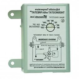 Attic Fan Thermostat Programmable For Home Ventilator Replac