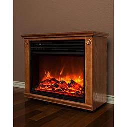 Lifesmart Big Room Electric Infrared Quartz Fireplace Heater