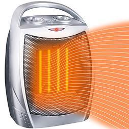 Brightown Space Heater Electric Heater Portable Ceramic Heat
