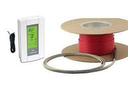 40 sqft cable set, electric radiant floor heat heating syste
