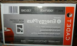 Cadet CEC163TW Energy Plus Heater Complete Unit, Multi-Volt