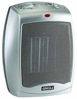 Ceramic Portable Space Heater with Adjustable Thermostat - F