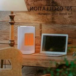 VIVOHOME Ceramic Space Heater Fan Adjustable Thermostat Fast