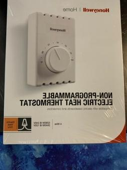 Honeywell CT410B Manual 4 Wire Premium Baseboard/Line Volt T