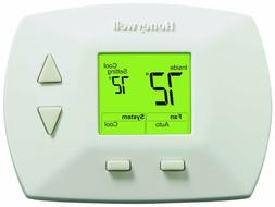 Honeywell Deluxe Manual Thermostat Home Air Conditioner Heat