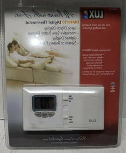 Lux Products #DMH105 Large DGTL Electric Thermostat