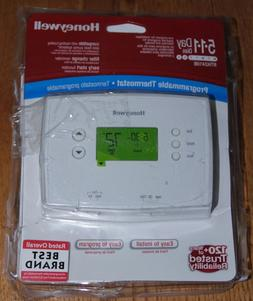 Honeywell Digital 5-1-1 Day Programmable Thermostat New Open