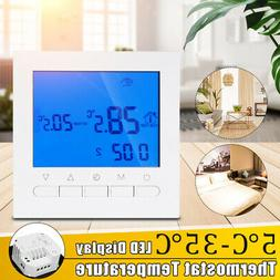 Digital LCD Programmable Temperature Controller Thermostat S
