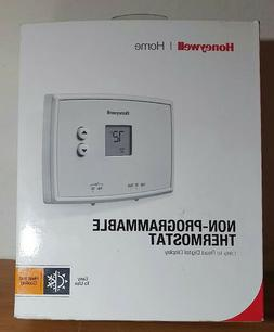 how to install honeywell non programmable thermostat ct87n