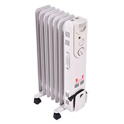 Tangkula Oil Radiator, 1500W Portable Compact Electric Space