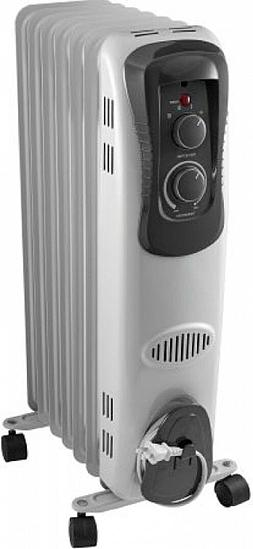 Electric Oil Filled Space Heater Radiator Home Room Radiant