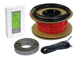 HeatTech 10 sqft Warming Cable Set, Electric Radiant In-Floo