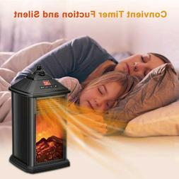 Electric Space Heater <font><b>Fireplace</b></font> Stove Po