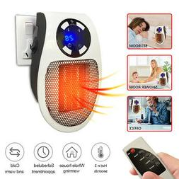 ELECTRIC WALL HEATER PORTABLE HOME OFFICE SPACE WARMER ADJUS
