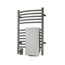 Amba Electric Wall Mount Jeeves E Curved Towel Warmers Brush