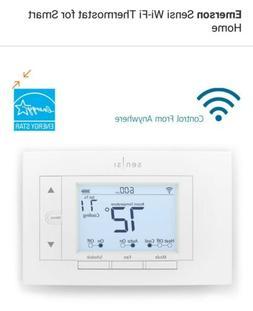 EMERSON Sensi Wi-Fi Thermostat for Smart Home White Color