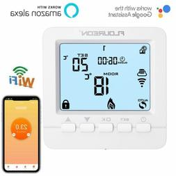 floureon app control wifi digital thermostat programmable