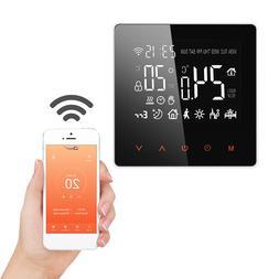 FLOUREON Smart WiFi <font><b>Thermostat</b></font> Heat Cont