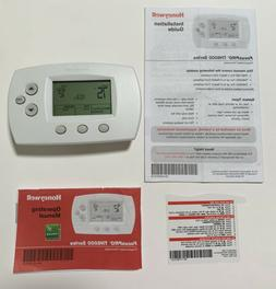 Honeywell FocusPRO TH6000 Programmable Thermostat With Instr